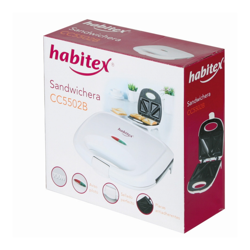 SANDWICHERA HABITEX CC5502B