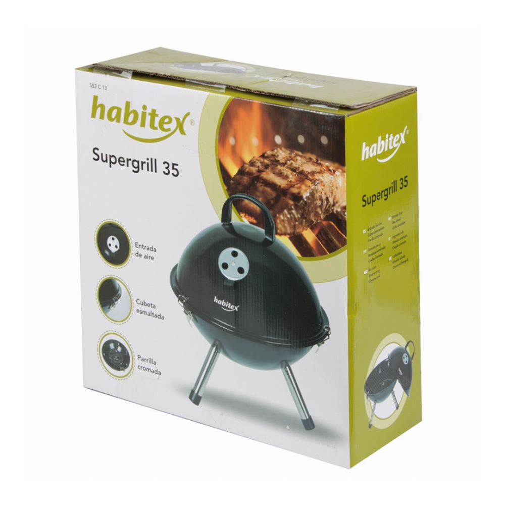 BARBACOA CARBÓN SUPERGRILL 35 HABITEX