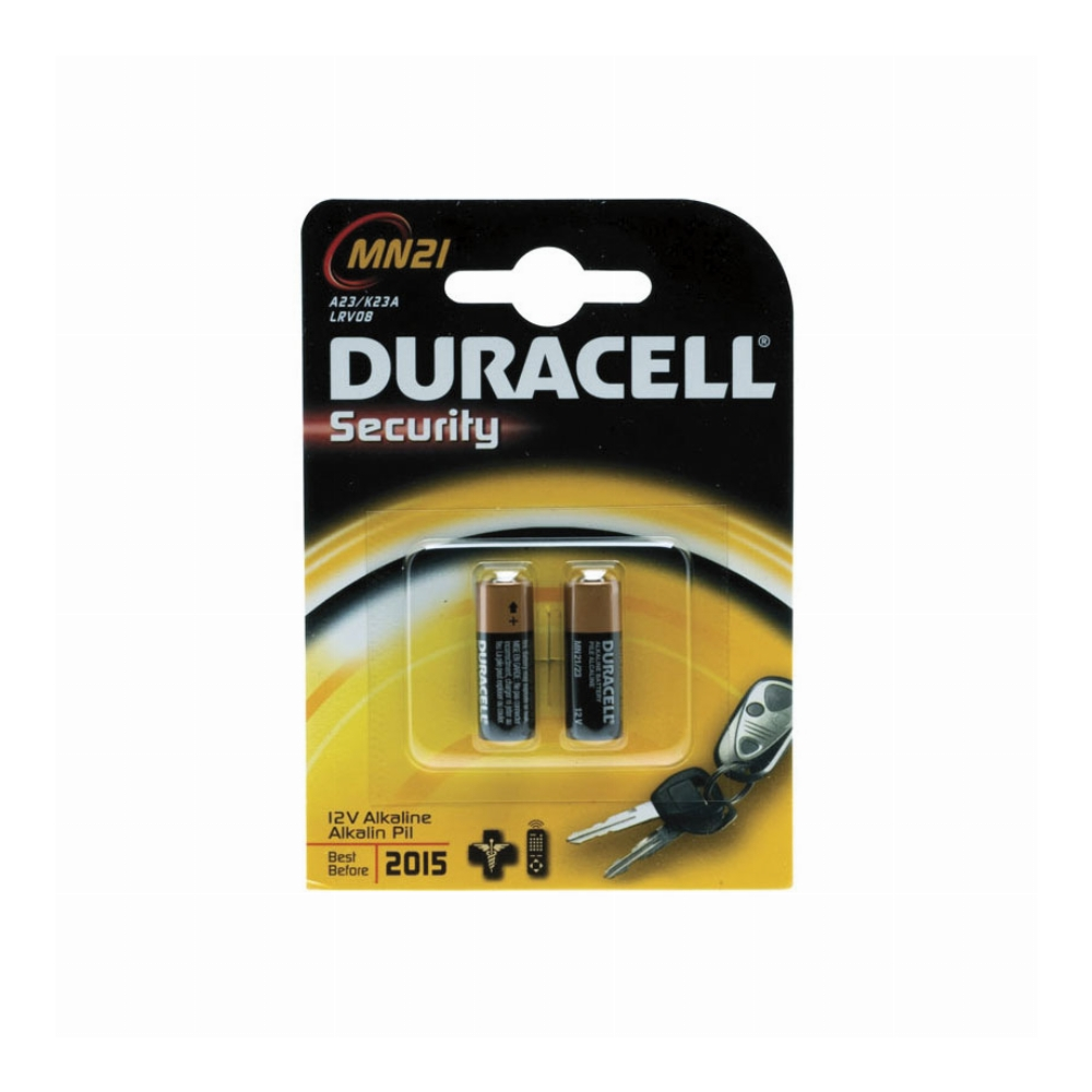 PILA ALCALINA DURACELL SECURITY MN21