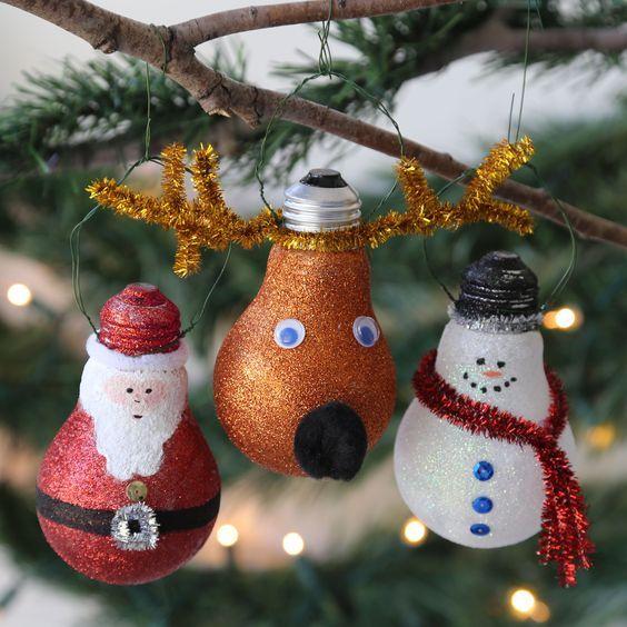 Bombillas decoradas